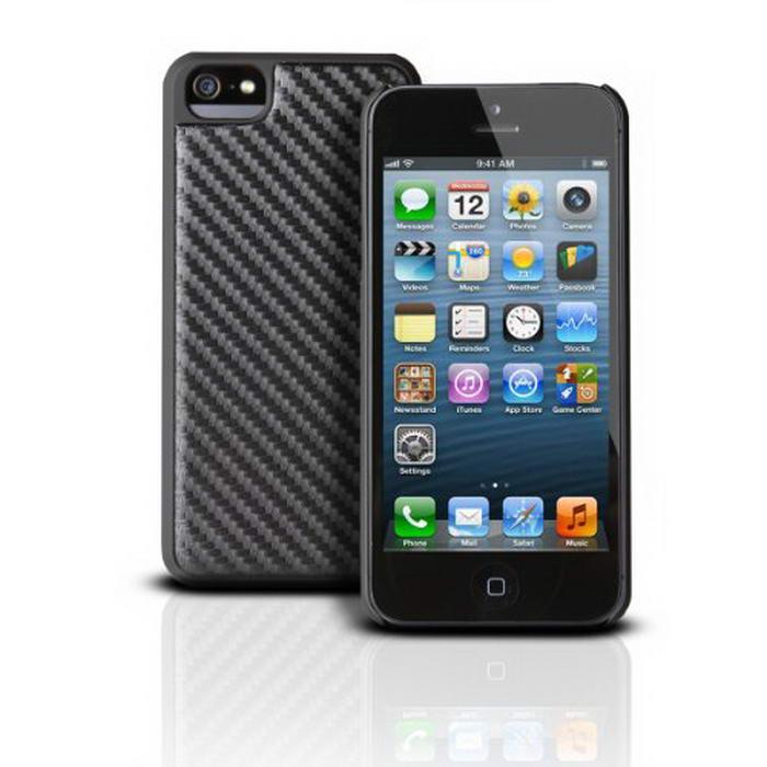 Photive iPhone 5 Case CEO Carbon Fiber Snap Case