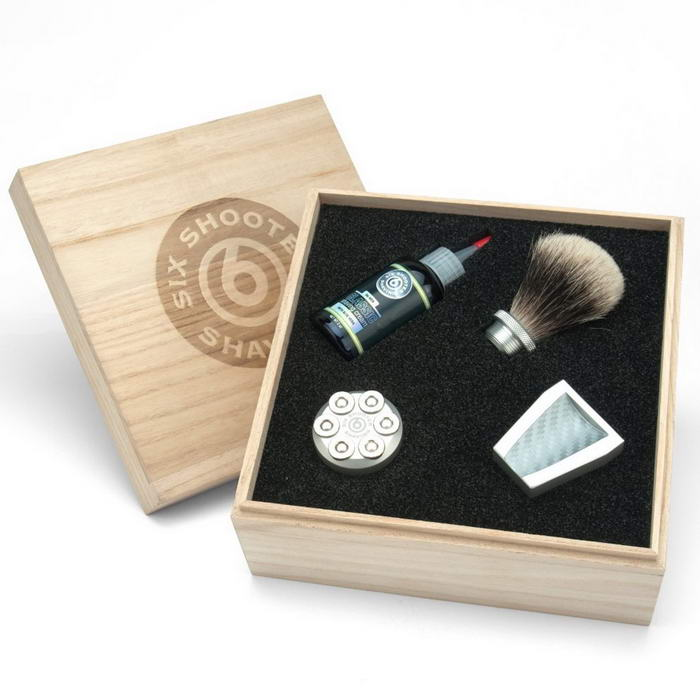 six shooter shave brushes-1